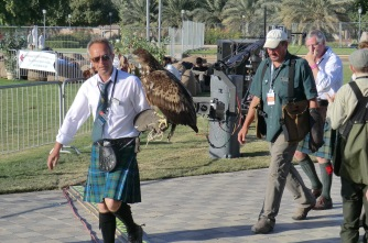 Look at the size of the bird of prey